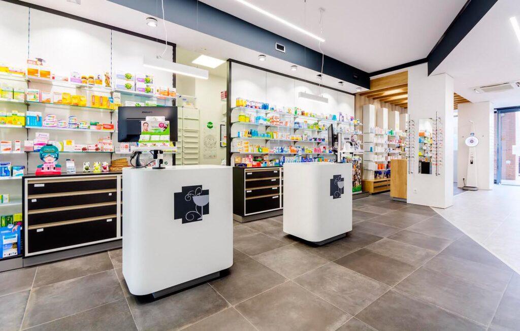 mostradores farmacia